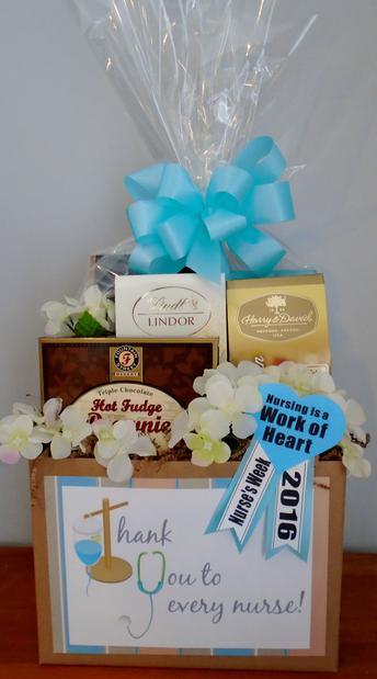 Nurse S Day Gift Baskets By O Goodies